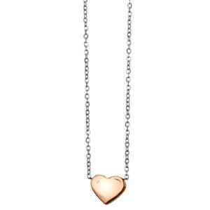 Jeklena rožnato zlata verižica 613006 b