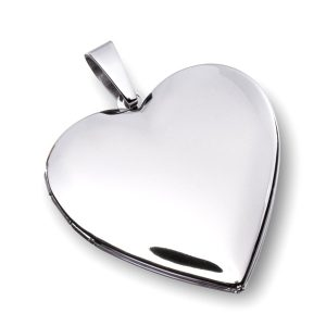 Obesek srce za slikico 23637 poliran