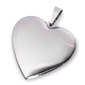 Obesek srce za slikico 23638 mat